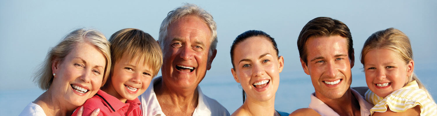 three generations of family after family dentistry
