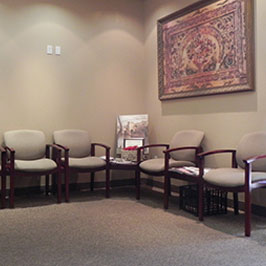 waiting room at Michael P Giovannini DDS